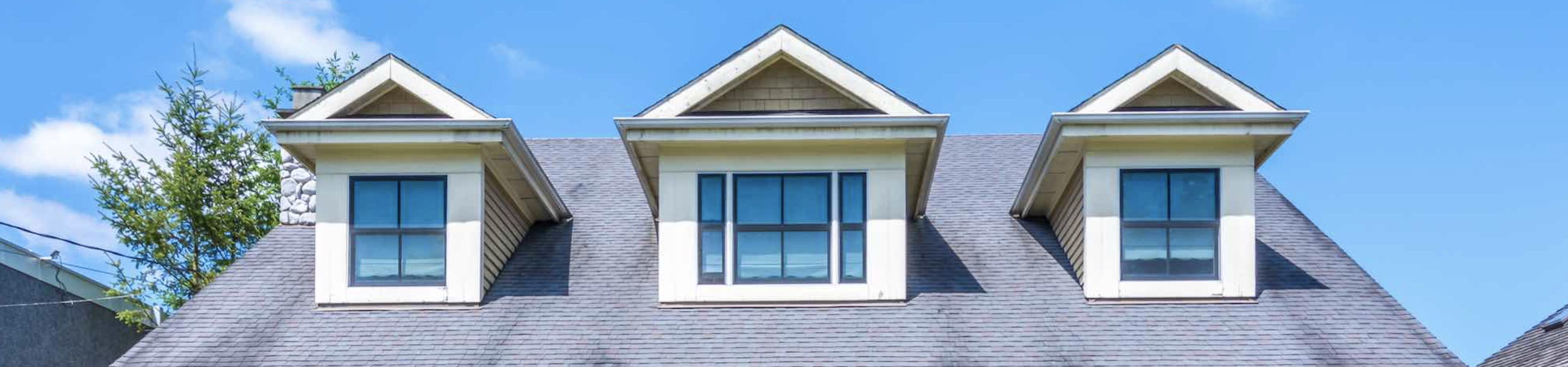Picture of a house roof